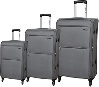 Track Luggage Trolley Bags for Unisex, 3 pieces