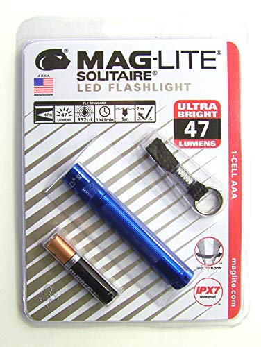 Maglite Solitaire LED 1AAA Blister Blue