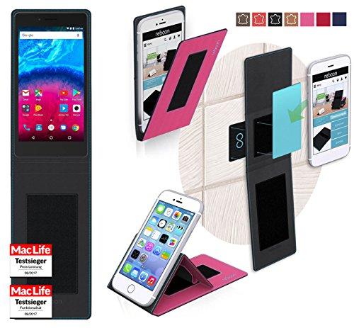 Hülle für Archos Core 50 Tasche Cover Hülle Bumper | Pink | Testsieger