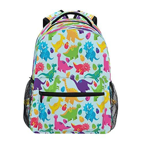 JSTEL Kids Backpack Children's Day Gift Purple Butterfly School Backpacks for Boys Girls Bookbags Travel Laptop Bags