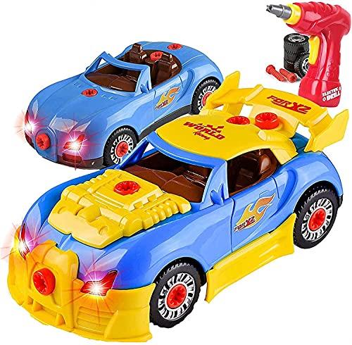 Take Apart Toy Racing Car Kit for Kids...