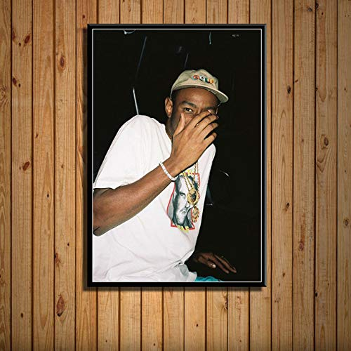 wtnhz Sänger Rap Musik Poster auf Leinwand Charakter Leinwand Malerei Das Bild für Home Modern Decoration 60x90cmKein Rahmen