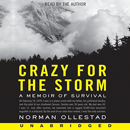 Crazy for the Storm audiobook cover art
