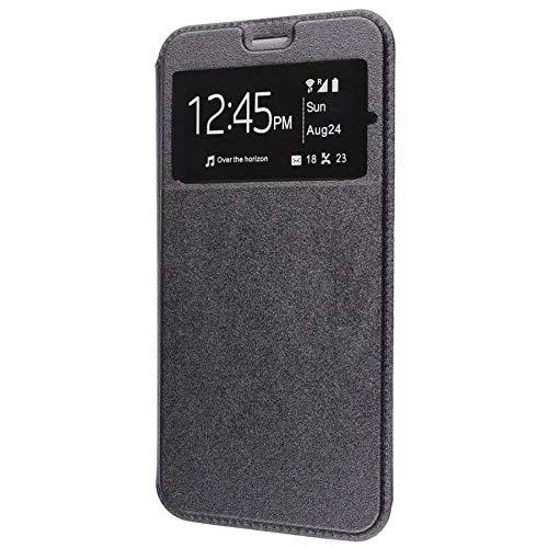 Wephone Accesorios Funda de Libro Silicona TPU Negro (Samsung M21)