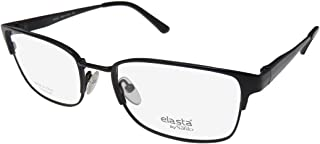 bf7dd5e7d14 Safilo Elasta 7208T Mens Designer Full-rim Titanium Spring Hinges  Eyeglasses Eyewear (57