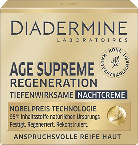 DIADERMINE AGE SUPREME Regeneration Nachtpflege Tiefenwirksame Nachtcreme, 50 ml
