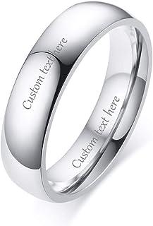 7d39ff9c0eed Amazon.es: anillo grabado personalizado