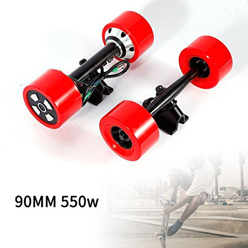 90mm Dual 6364 Hub Motors Drive Kit For DIY Electric Skateboard Longboard Part