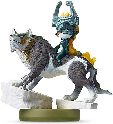 Figura de acción Leyenda de Zelda amiibo: Link Lobo Figurita!Leyenda de Zelda figura de acción del juego obra maestra figura coleccionable de la respiración del Salvaje Japón Importar / 3DS / WiiU / S