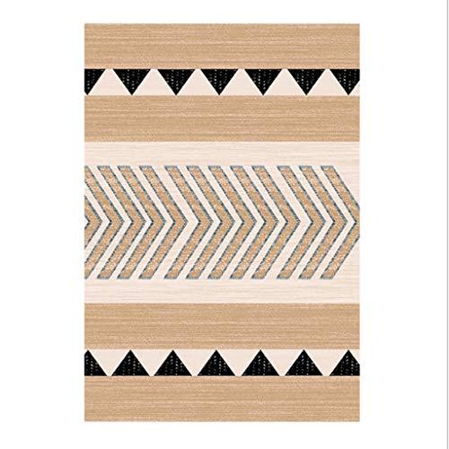 Tapijt met geometrisch patroon voor woonkamer, salontafel, slaapkamer, tapijt 80 * 120cm