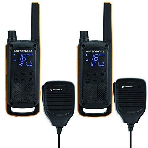 Motorola Talkabout T82 Extreme RSM PMR radio (tot 10 km bereik, IPx4 bescherming tegen weersinvloeden, 500 mW, VOX)