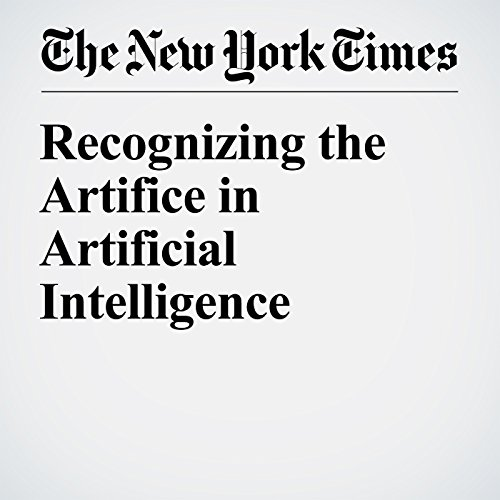 Recognizing the Artifice in Artificial Intelligence audiobook cover art
