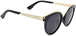 TIJN Abstract Modern Mirrored Cat Eye Shaped Polarized Sunglasses