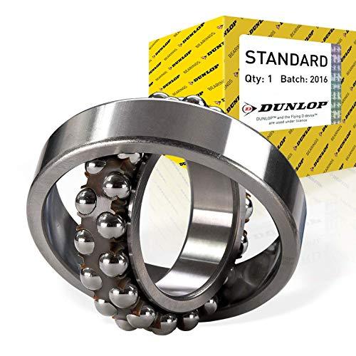 2Z Dunlop 6200-2Z-C3 Single Row Radial Ball Bearing with Shields 10mm ID x 30mm OD x 9mm W C3 Radial Clearance