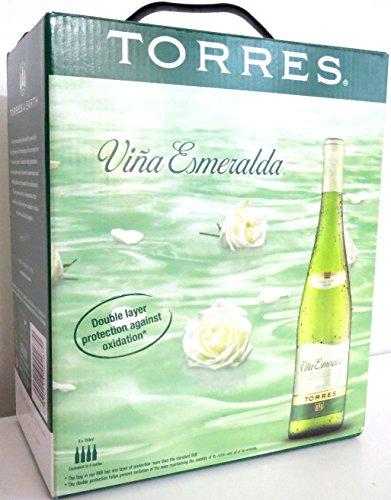 TORRES VIÑA ESMERALDA WEIßWEIN Bag in Box 3L Incl. Goodie von Flensburger Handel