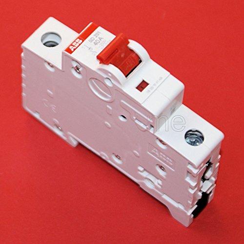 ABB SD201/40 Hauptschalter Lasttrennschalter Schalter 1-polig 40A rot