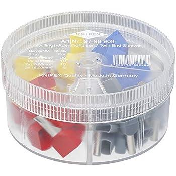 Knipex Sortimentsboxen Mit Isolierten Aderendhülsen 97 99 905 Baumarkt