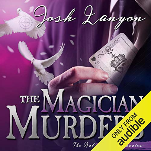 The Magician Murders audiobook cover art