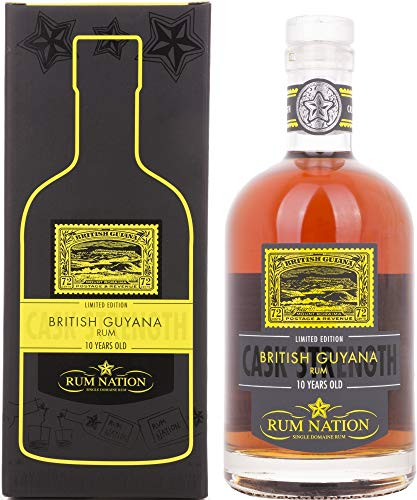 Rum Nation British Guyana 10 Years Old Limited Edition Rum (1 x 0.7 l )