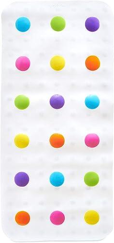 Munchkin Dandy Dots Alfombrilla de Baño de lunares, multicolor