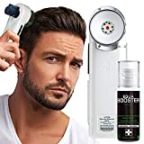 Hair Regrowth Hair loss Treatment - BIOEQUA Enercharger (H1) Cold Ion Charging Scalp Revitalization Technology for Boosting Follicles Vitality and Regaining Hair Density for Men and Women