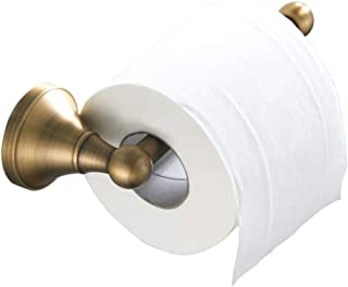 Flybath Toilet Paper Holder Without Cover Antique Brass Bathroom Tissue Roll Bar Wall Mounted, 20 cm / 7.87 inches, Brushed Bronze