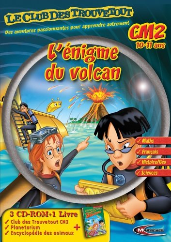 Le Club des Trouvetout CM2 : L'énigme du Volcan + livre d'aventure + Le Planétarium