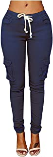 Spbamboo Womens Yoga Pants Fitness Leggings Running Gym Stretch Striped Trousers