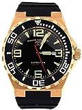 Swiss Legend 10008-rg-01-bb sl-10008-rg-01-bb–Armbanduhr Herren, Gummi Armband Farbe Schwarz