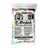 GOKarli Empire Dart E-Point Ultra Longlife Dartspitzen 2BA lang Softtips Soft Tips Long Bunt 100 Stück Softdart Spitzen