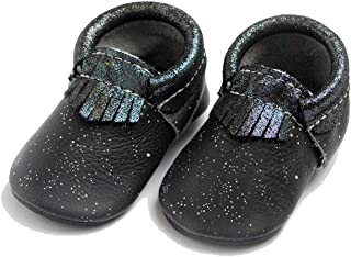 Freshly Picked - Soft Sole Leather City Moccasins - Star Wars Baby Girl Boy Shoes