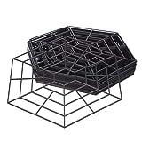 Katai 20 Pack Kunststoff-Teichschutznetzringe.Schwebende Reiher-Abschreckung komplett mit 2 Gartenpflanzenbinder