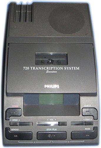 Philips LFH 720 Diktiergerät Wiedergabegerät für Minikassetten