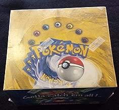 Pokemon Card Game - Basic (Base Set 1) Booster Box - 36P11C