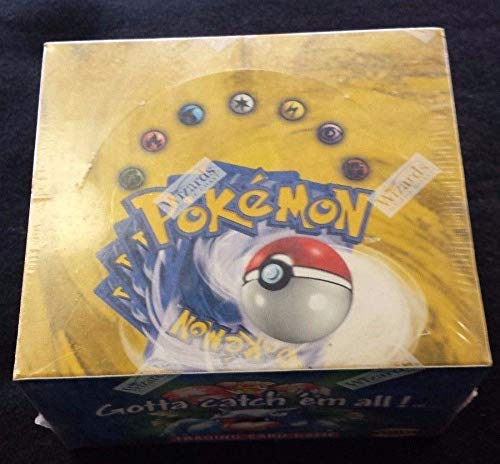 Pokemon - Kartenspiel - Basic (Base Set 1) Booster Box - 36P11C