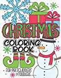 Christmas Coloring Book For Preschoolers & Toddlers: Simple Holiday Coloring Book for Kids
