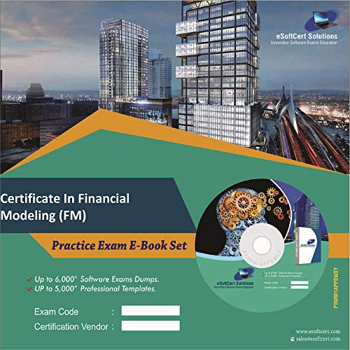 Certificate In Financial Modeling (FM) Exam Complete Video Learning Solution (DVD)