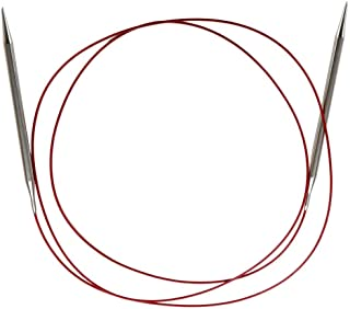 7024-5 3.75mm 61cm Stainless Steel Knitting Needle Size US 5 ChiaoGoo Red Lace Circular 24 inch