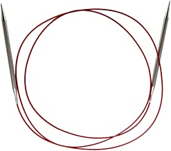 ChiaoGoo Red Lace Circular 60 inch (152cm) Stainless Steel Knitting Needle Size US 5 (3.75mm) 7060-5