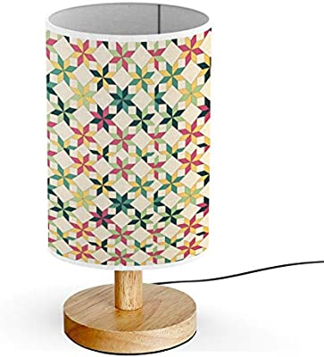 Amazon.com: ARTSYLAMP - Wood Base Decoration Desk Table ...