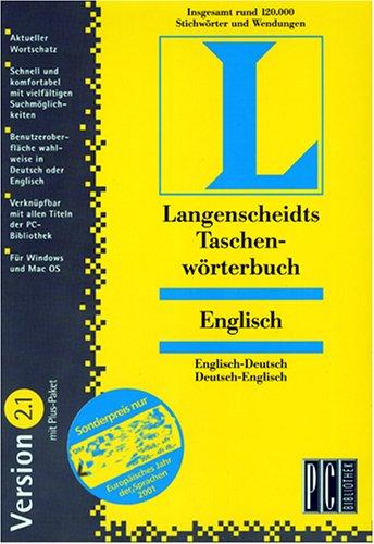 Langenscheidts Taschenwörterbuch Englisch 2.1 mit Plus- Paket. CD- ROM für Windows 3.1/95/98/ NT und MacOS ab 7.5