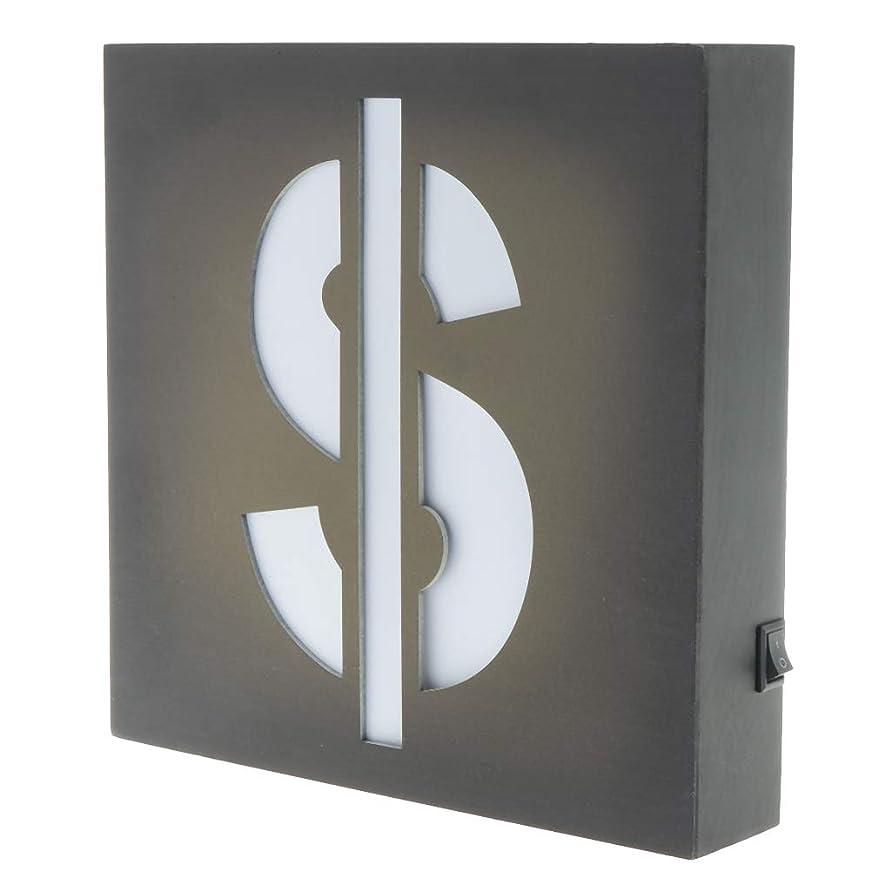 学習者時代シンジケートamleso LEDサインプラーク LED照明看板 イルミネーション ボックスプラーク - お金