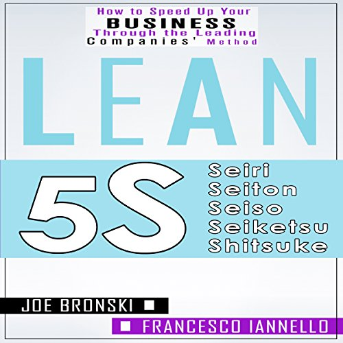 Lean Tools: 5S audiobook cover art