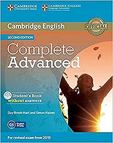Complete Advanced Student's Book without Answers with CD-ROM [Lingua inglese]