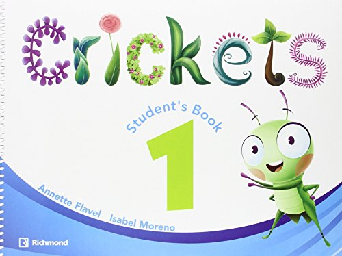 CRICKETS 1 STUDENT'S PACK - 9788466824453