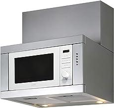 CATA | Integración de Horno Microondas y Campana Extractora | CHORUS XWH | 3 Velocidades de Extracción | Campana Extractora Cocina 400 m3/h - 210m3/h | Microondas 20 L | Acero Inoxidable