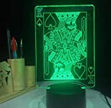 Spezial- & Stimmungsbeleuchtung Led Nachtlampe Acryl Lava Lampe 3D Halloween Geschenk Dekoration Lichter Kunst Lichter