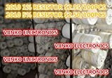 100pcs/lot SMD Chip Resistor 1% 2010 1R 1 OHMS 3/4W 100% YAGEO New Original Chip Fixed Resistor
