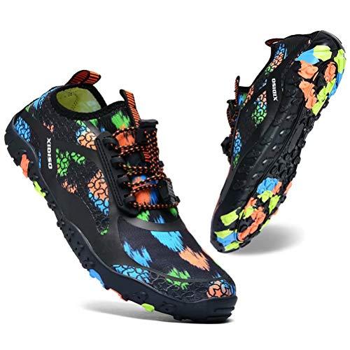 XIDISO Waterschoenen voor dames en heren, sneldrogend, lichte blotevoetenschoenen, strandschoenen.