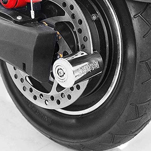 Roestvrijstalen motorfiets Locomotief schijfrem blokkering waterdicht fiets Electric mountainbike anti-diefstal-schijfrem blokkering